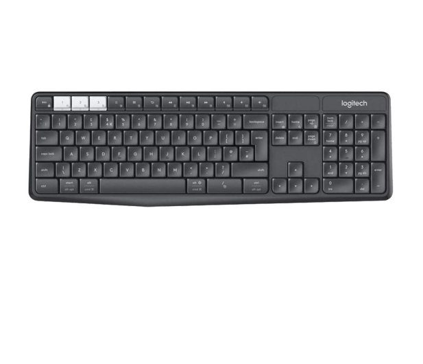 Logitech K375s Multi-Device (Unifying, Bluetooth Smart) - 361726 - zdjęcie 2