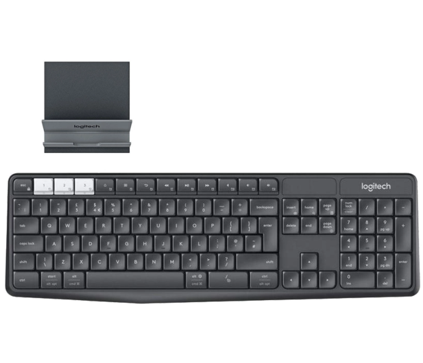 Logitech K375s Multi-Device (Unifying, Bluetooth Smart) - 361726 - zdjęcie