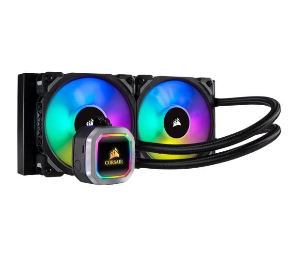 Corsair Hydro Series H100i Platinum RGB 2x120mm - 474210 - zdjęcie