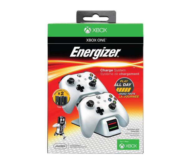 PDP Xbox Energizer 2X Ładowarka do Padów - Biała - 473696 - zdjęcie