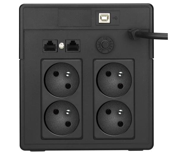Power Walker VI 1000 PSW (1000VA/700W, 4xFR, AVR, USB, LCD) - 474119 - zdjęcie 4