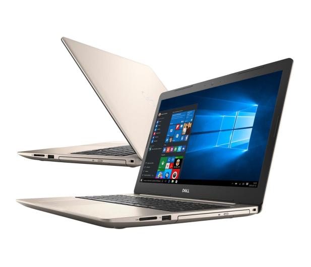 Dell Inspiron 5570 i5-8250U/8GB/240+1TB/Win10 FHD Złoty - 477686 - zdjęcie