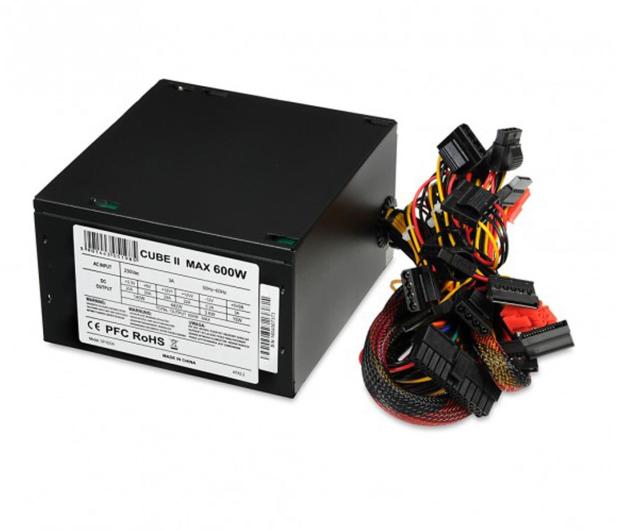 iBOX Cube II Black Edition 600W  - 477793 - zdjęcie