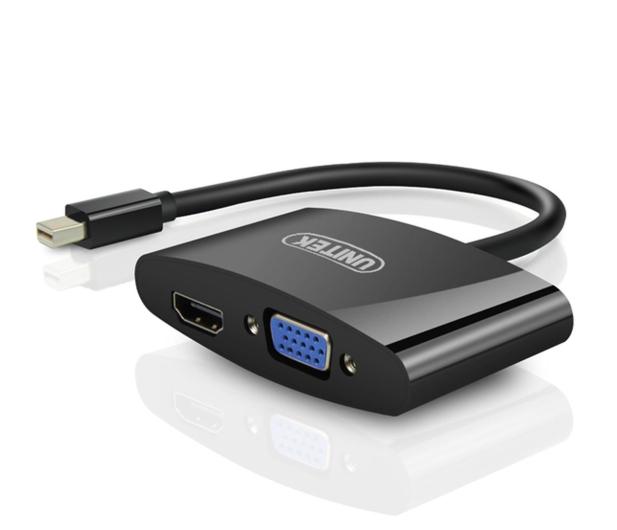Unitek Konwerter mini DisplayPort - VGA, HDMI - 478165 - zdjęcie