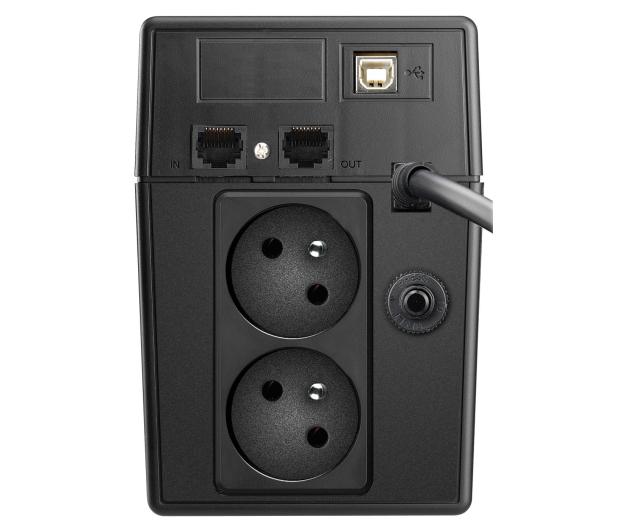 Power Walker VI 800 SW (800VA/480W, 2xSchuko, USB LCD, AVR) - 471427 - zdjęcie 4