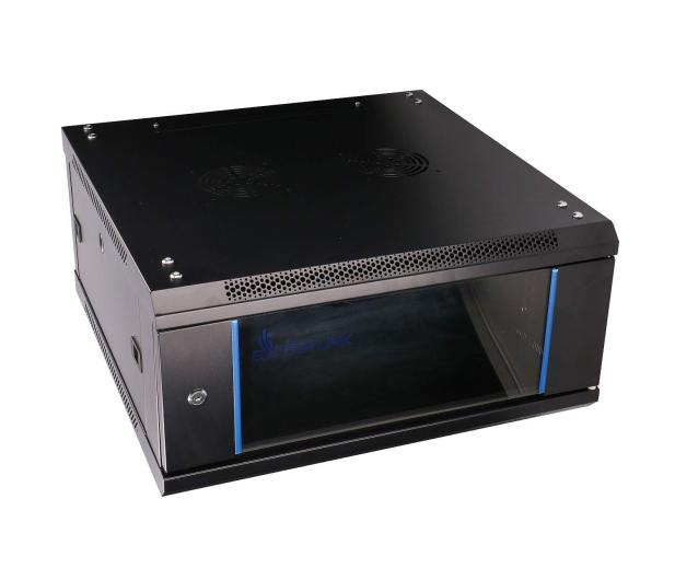 """ExtraLink Wisząca 19"""" 4U 600x600mm (czarna)  - 484912 - zdjęcie 2"""