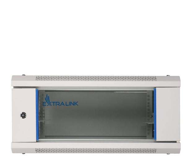 """ExtraLink Wisząca 19"""" 4U 600x600mm (szara)  - 484911 - zdjęcie"""