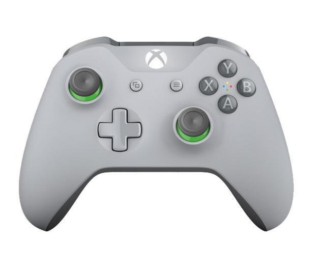 Microsoft Pad XBOX One Wireless Controller Szary - 483996 - zdjęcie