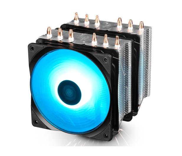 Deepcool Neptwin RGB 120mm - 484097 - zdjęcie 2