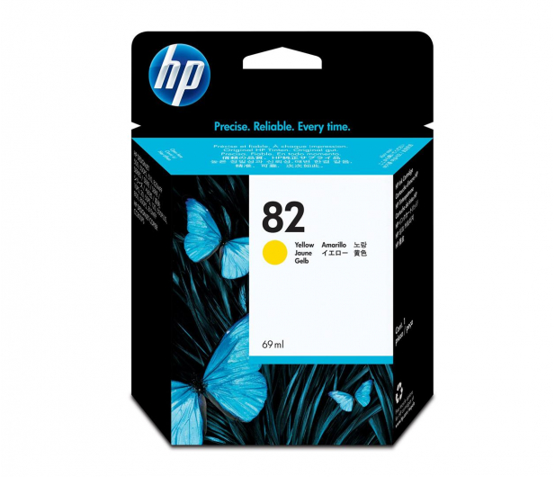 HP 82 C4913A yellow 69ml - 14720 - zdjęcie