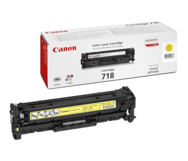 Canon CRG-718Y yellow 2900str. - 79290 - zdjęcie
