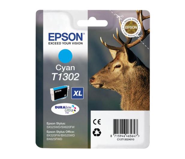 Epson T1302 cyan 10,1ml  - 58635 - zdjęcie