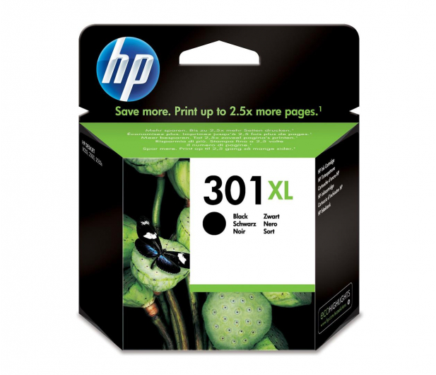 HP 301XL black 480str. - 59158 - zdjęcie