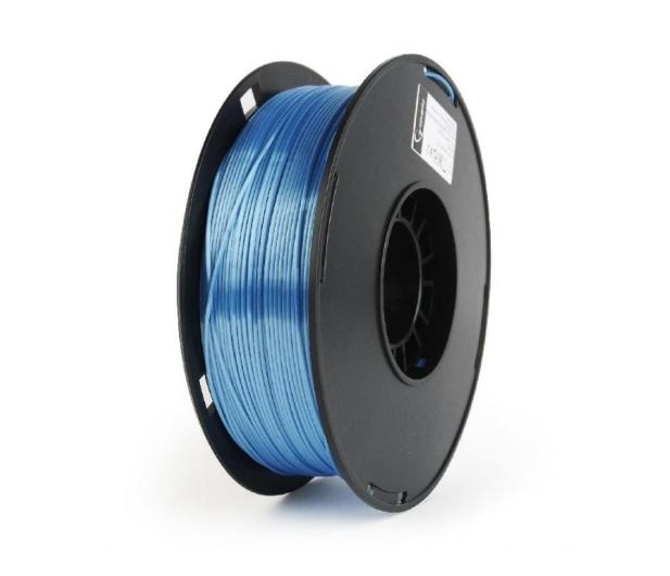 Gembird Polymer Glossy Silk Blue 1kg - 485540 - zdjęcie