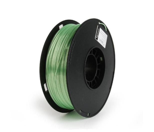 Gembird Polymer Glossy Silk Green 1kg - 485542 - zdjęcie