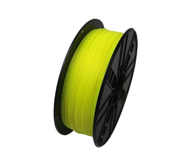 Gembird PLA Fluorescent Yellow 1kg - 485466 - zdjęcie