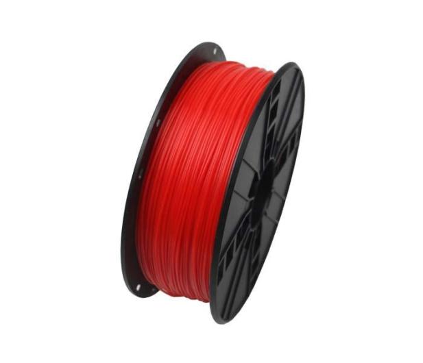 Gembird PLA Fluorescent Red 1kg - 485463 - zdjęcie