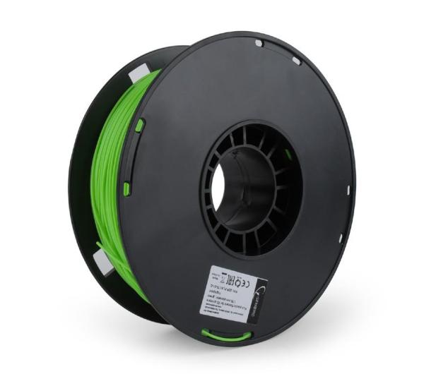 Gembird Filament PLA Green 1kg - 485467 - zdjęcie