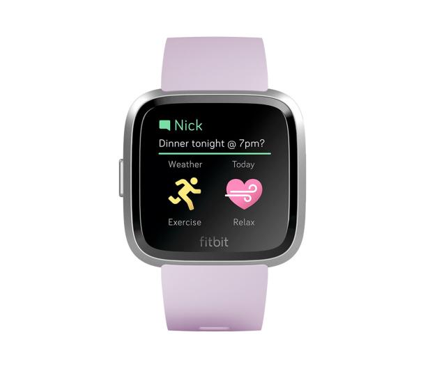 Fitbit Versa Lite Liliowa - 485348 - zdjęcie 2