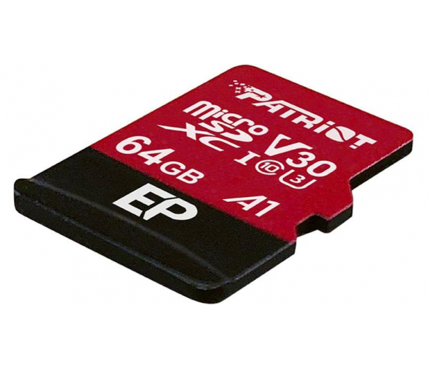 Patriot 64GB EP microSDXC 100/80MB (odczyt/zapis) - 485619 - zdjęcie 2