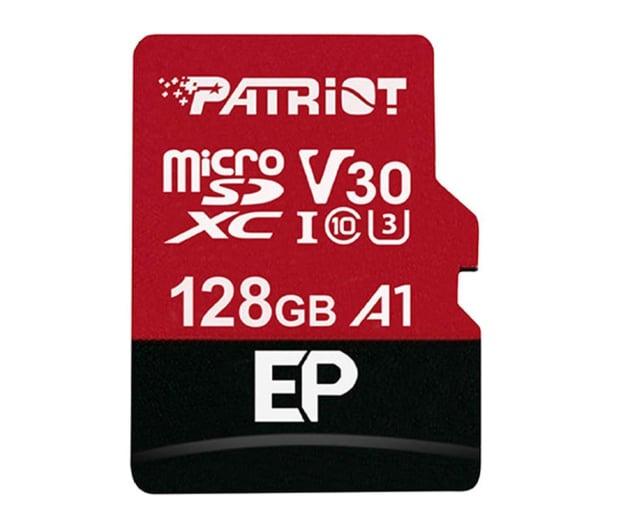 Patriot 128GB EP microSDXC 100/80MB (odczyt/zapis)  - 485620 - zdjęcie