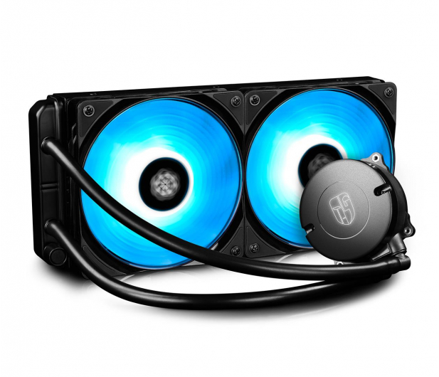 Deepcool Maelstrom 240 RGB 2x120mm - 484088 - zdjęcie