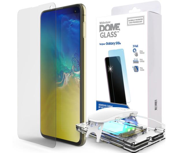 Whitestone Szkło Hartowane Dome Glass + UV do Galaxy S10E - 485190 - zdjęcie