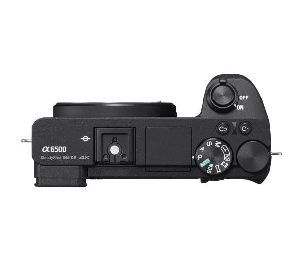Sony ILCE A6500 body czarny  - 483120 - zdjęcie 4