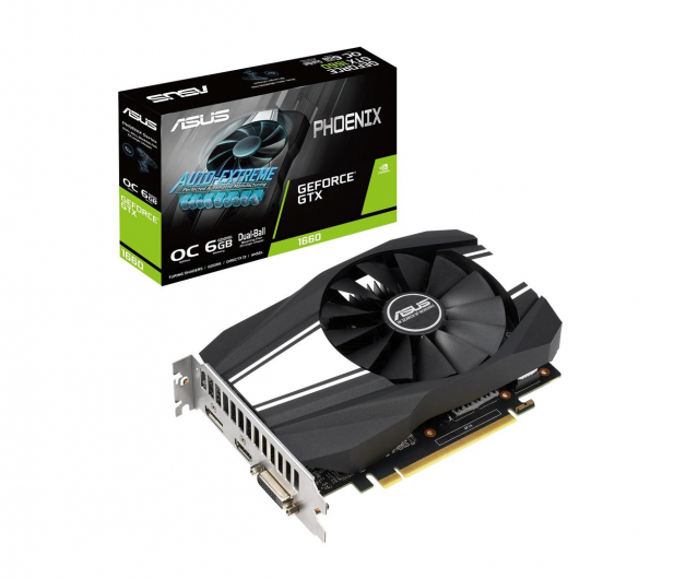 ASUS GeForce GTX 1660 Phoenix OC 6GB GDDR5 - 485049 - zdjęcie