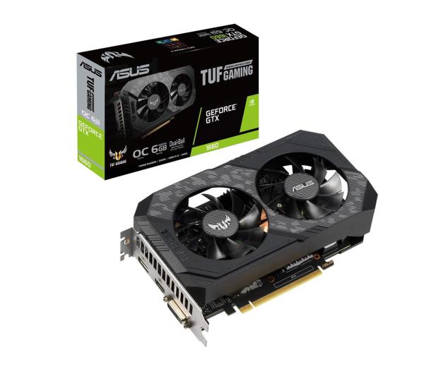 ASUS GeForce GTX 1660 TUF Gaming OC 6GB GDDR5 - 485048 - zdjęcie