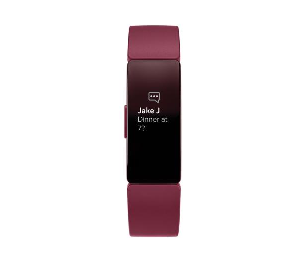 Fitbit Inspire Bordowa  - 485341 - zdjęcie 2