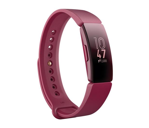Fitbit Inspire Bordowa  - 485341 - zdjęcie