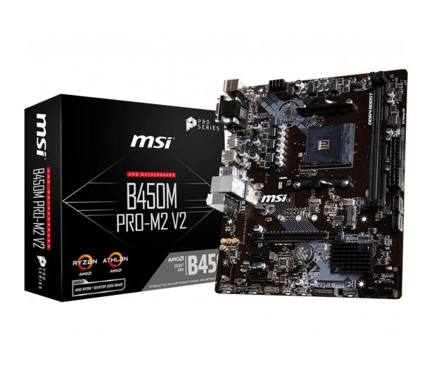 MSI B450M PRO-M2 v2 - 485943 - zdjęcie