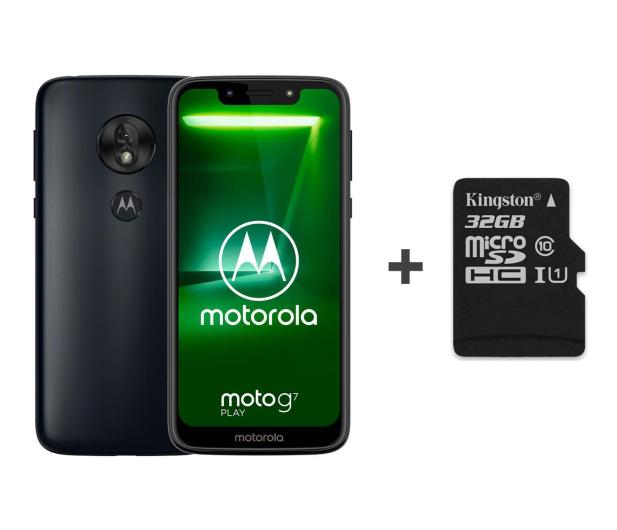 Motorola Moto G7 Play 2/32GB Dual SIM granatowy + 32GB - 483118 - zdjęcie