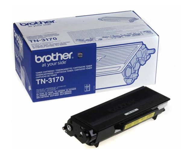 Brother TN3170 black 7000str. - 14508 - zdjęcie