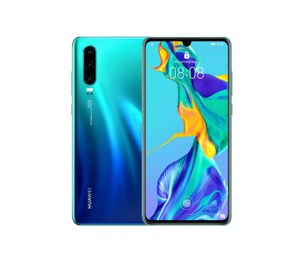 Huawei P30 128GB Aurora niebieski - 483693 - zdjęcie