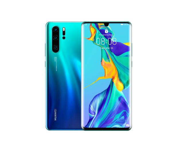 Huawei P30 Pro 128GB Aurora niebieski - 483711 - zdjęcie