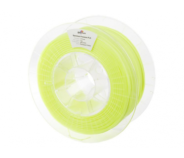 Spectrum PLA Fluo Yellow 1kg - 485809 - zdjęcie
