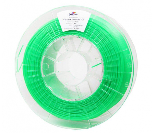 Spectrum PLA Fluo Green 1kg - 485810 - zdjęcie
