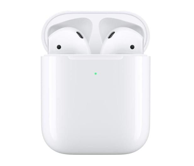 Apple NEW AirPods 2019 z bezprzewodowym etui ładującym - 487388 - zdjęcie