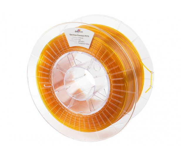Spectrum PETG Transparent Yellow 1kg - 486442 - zdjęcie