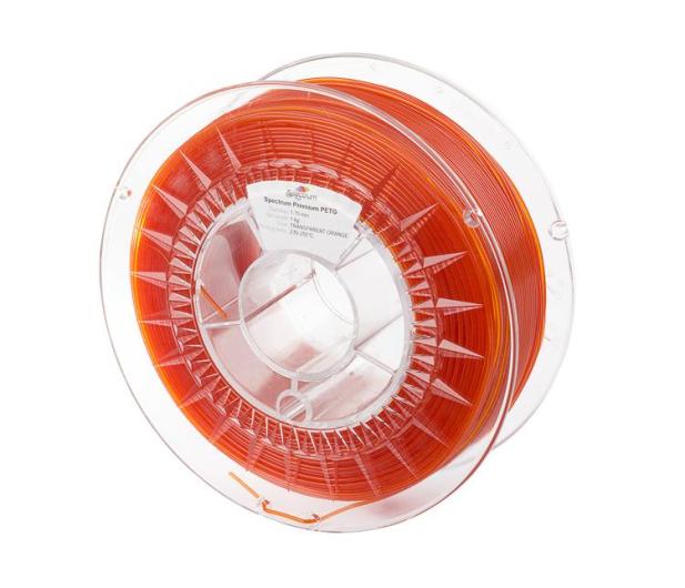 Spectrum PETG Transparent Orange 1kg - 486448 - zdjęcie