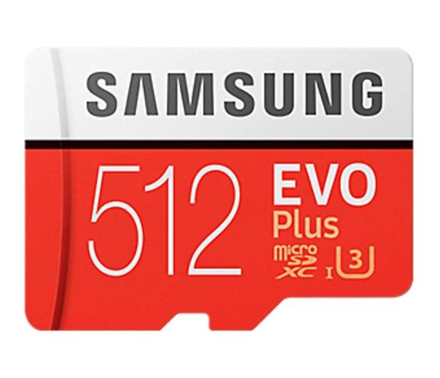 Samsung 512GB microSDXC Evo Plus zapis 90MB/s odcz 100MB/s - 485618 - zdjęcie