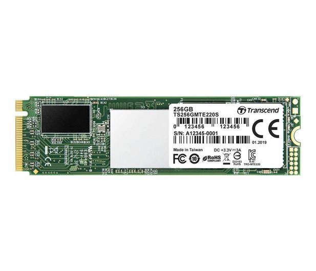 Transcend 256GB M.2 PCIe NVMe 220S  - 486814 - zdjęcie