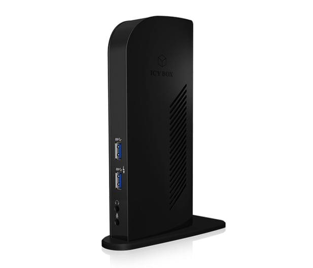 ICY BOX Stacja dokująca USB - 6xUSB, 2xDP, RJ-45, Audio - 485726 - zdjęcie