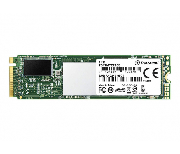 Transcend 1TB M.2 PCIe NVMe 220S  - 486815 - zdjęcie