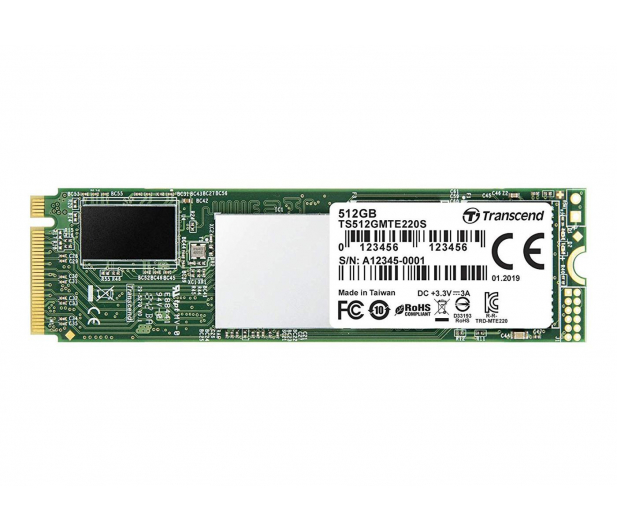 Transcend 512GB M.2 PCIe NVMe 220S  - 486813 - zdjęcie