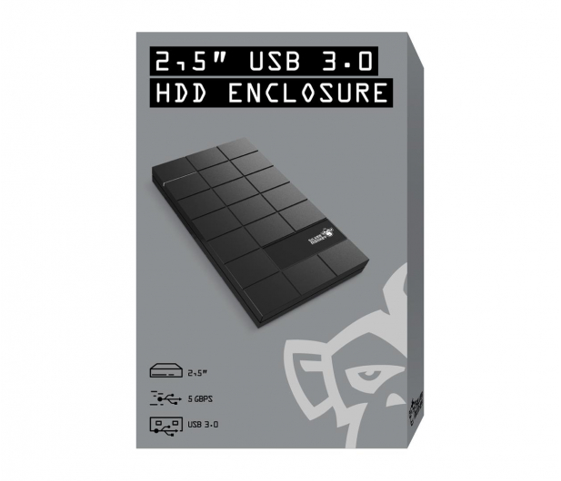 """Silver Monkey Obudowa do dysku 2.5"""" (USB 3.0, czarny) - 487147 - zdjęcie 8"""