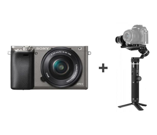 Sony ILCE A6000 z 16-50 + Gimbal G6 Plus - 487753 - zdjęcie