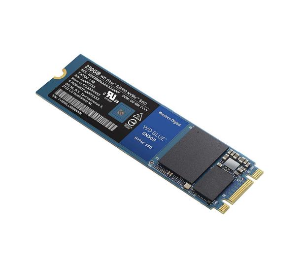WD 250GB M.2 PCIe NVMe Blue SN500 - 486495 - zdjęcie 3